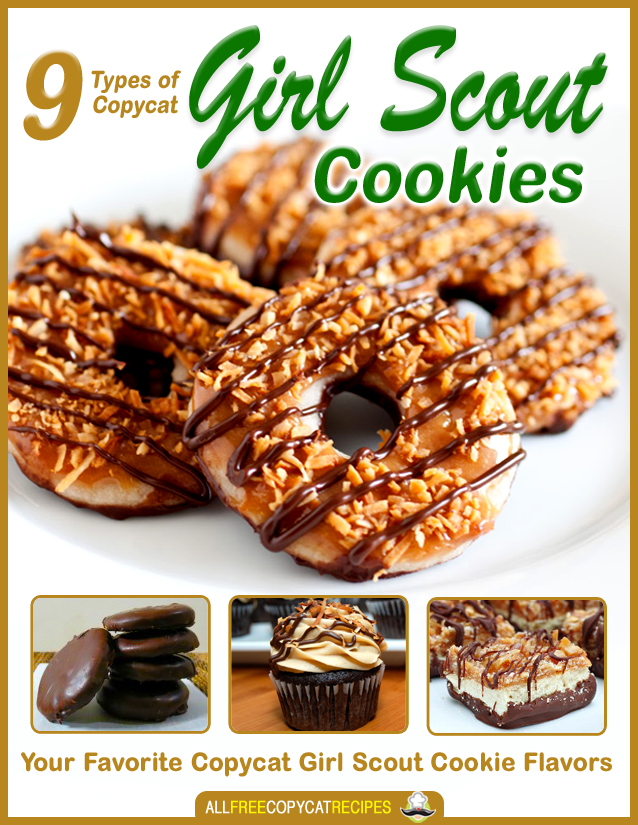 Girl scout cookie cake recipes
