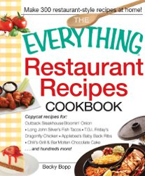 The Everything Restaurant Recipes Cookbook Review