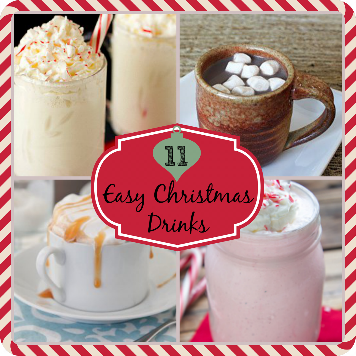 11 Easy Christmas Drinks